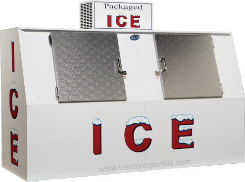 Ice Merchandiser Outdoor Model 75 Slant